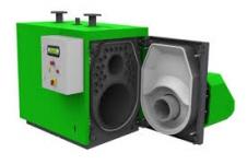 Пеллетный котел Kostrzewa Maxi Bio SPIN (75 кВт) - фото