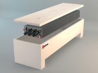 Напольный конвектор Polvax N.KEM 2 1000 - фото